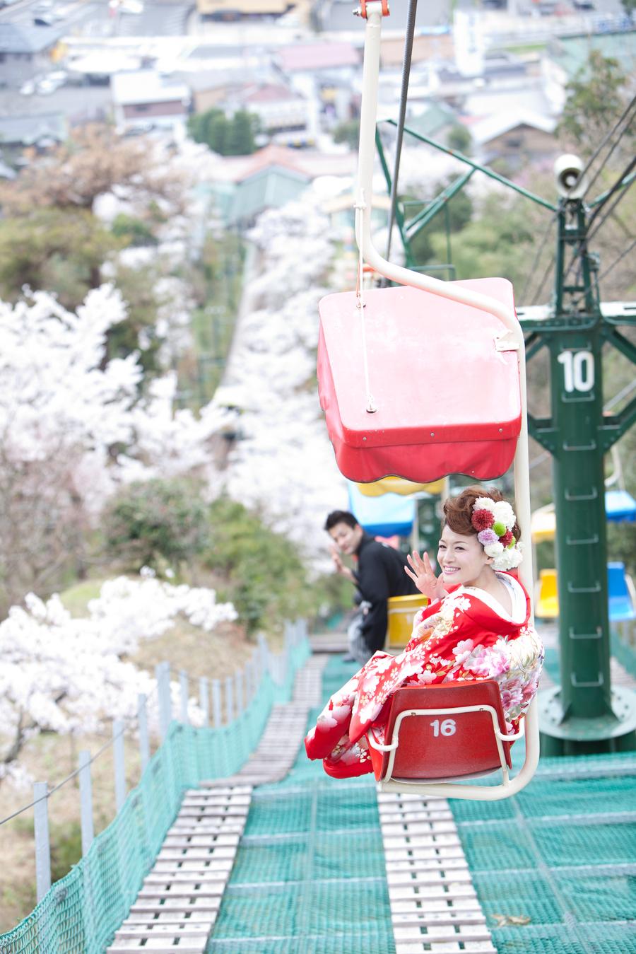 พรีเวดดิ้งด้วยชุดกิโมโนที่อามาโนะฮาชิดาเตะ (Amanohashidate)